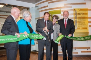 HughesCenter_RibbonCutting
